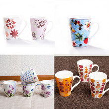 New products of 2016 Creative gift Cartoon black and white cat ceramic mug for Chrinstmas