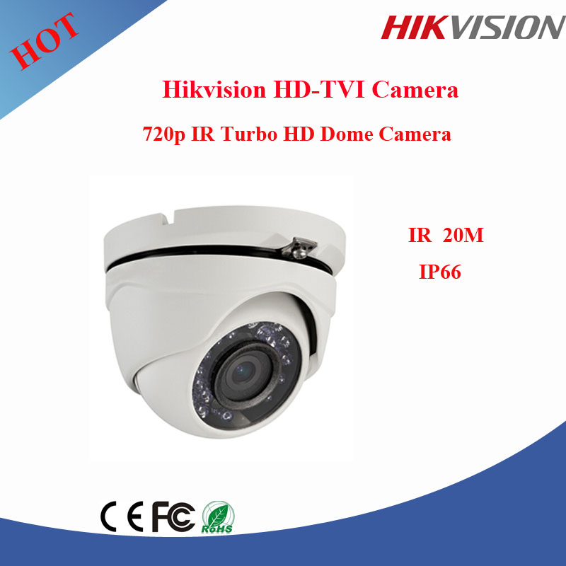 Hikvision dome Camera 720P Indoor 20m security camera system indoor DS-2CE56C0T-IRM