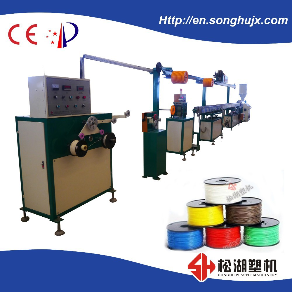 PLA 3d printer filament making machine/ ABS 3D printer filament extrusion <strong>line</strong>