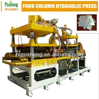 Hydraulic Press Machine for Aluminum Ceiling Tiles Corner Cutting and Sides Bending
