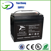 12V 134ah Rechargeable valve regulated lead acid batteryDeep Cycle Battery