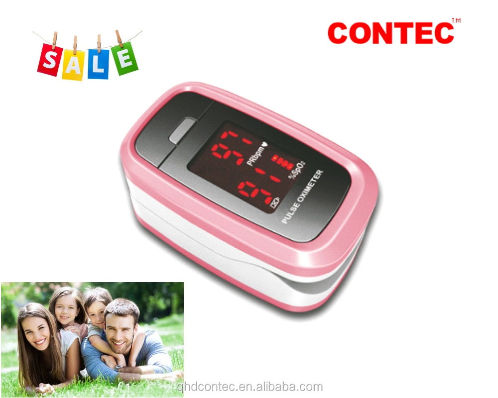 Contec Fingertip Pulse Oximeter/blood diagnostic testing kits hot model