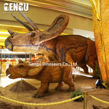 Animatronic Artificial Animal Statues Dinosaur Figure Toy