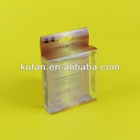 China Gift Foldable Clear PVC Box For Cosmetic