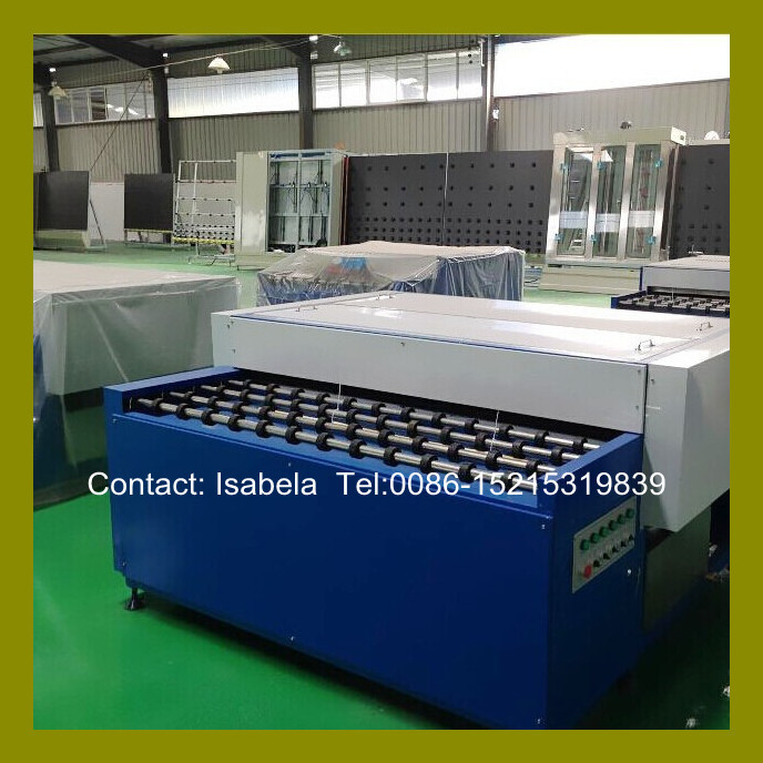 China horizontal double glazed insulating glass washing machine