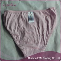 Young cotton teens girls pink underwear thongs