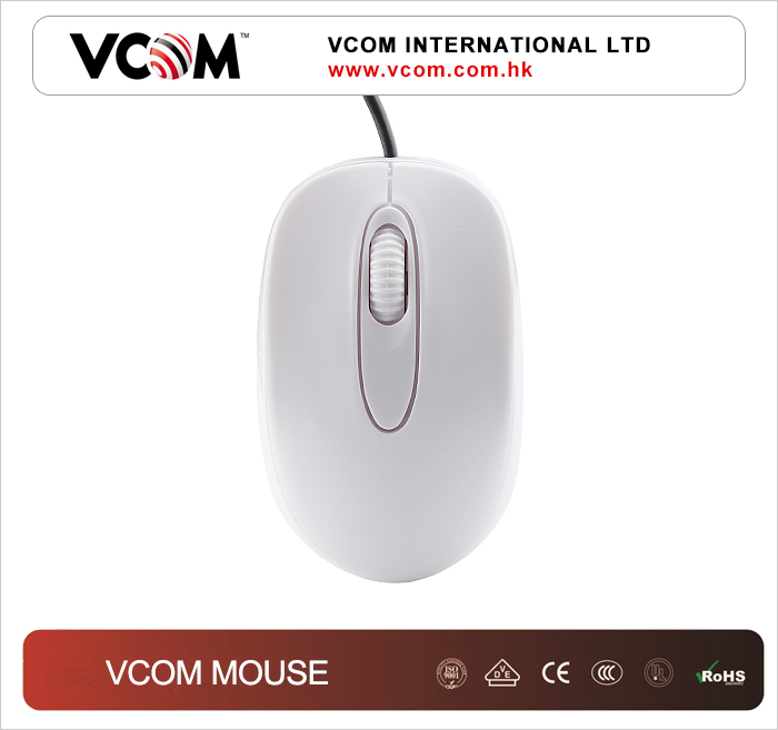 VCOM OEM mini retractable cartoon usb mouse for laptop
