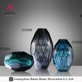 home decoration accessories modern glass vase