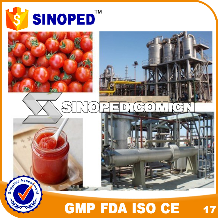 tomato paste production line/tomato puree making machine