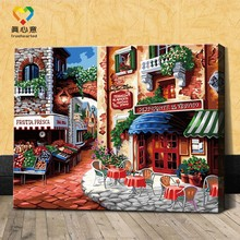 color by numbers diy painting kits oil painting