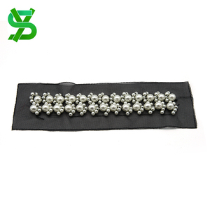 Wholesale factory direct price accessories for women beaded ribbon trim for wedding dress