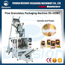 Vertical Food Grade Stainless steel Cereal and Pulses Packaging Machine