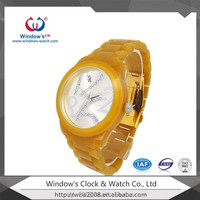 Colorful jelly watch silicon material wrist watch with fashion style