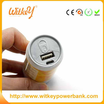 New sale 2200mah portable charger for coca cola power bank