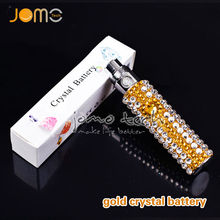 on sale!!! 2014 newest diamond ecig ego battery/Electronic cigarette battery/ego diamond battery bling and elegant