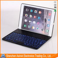 Aluminum alloy keyboard Bluetooth Cover Case for iPad Air 2