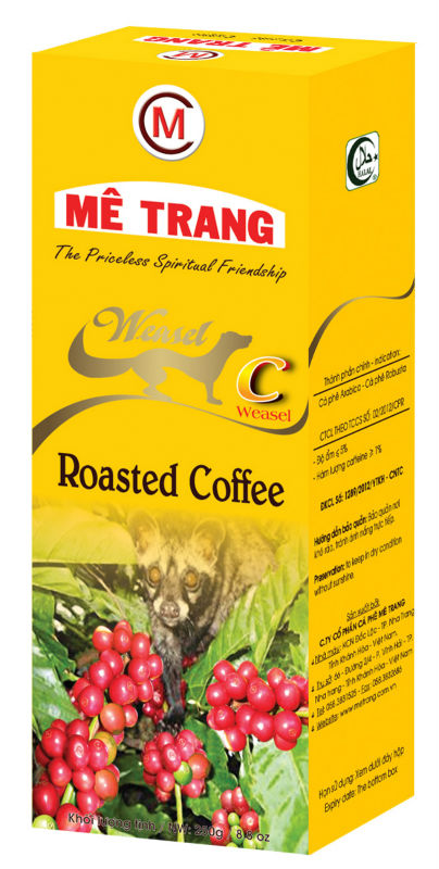 GROUND COFFEE - C LABEL - VIETNAMESE FLAVORS - ME TRANG BRAND