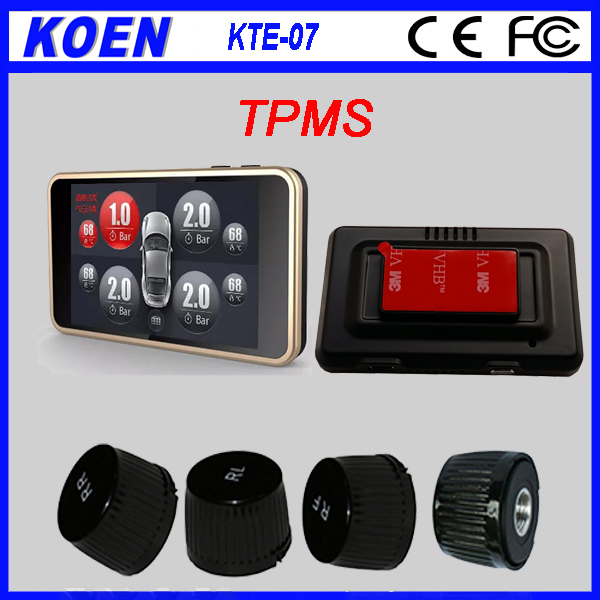 Shenzhen OEM factory Colourful LCD TPMS Tire Pressure Monitoring System