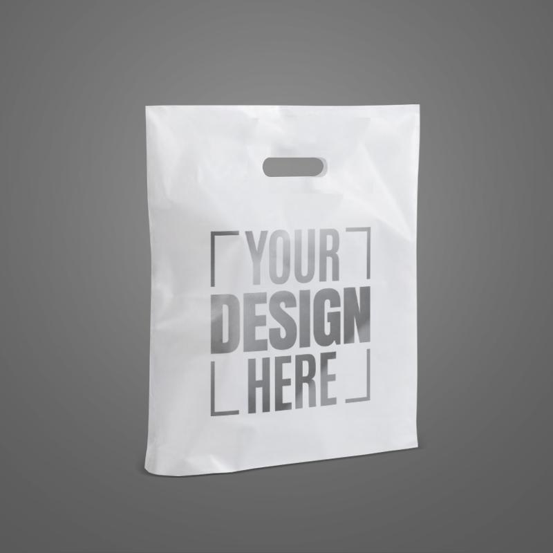 Manufacturer Durable Eco-Friendly You Own Logo Printed Custom Ldpe Plastic Side Gusset Bag