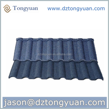 Roman building material prices china / High quality stone coated steel roofing tile / roman sand stone coated metal