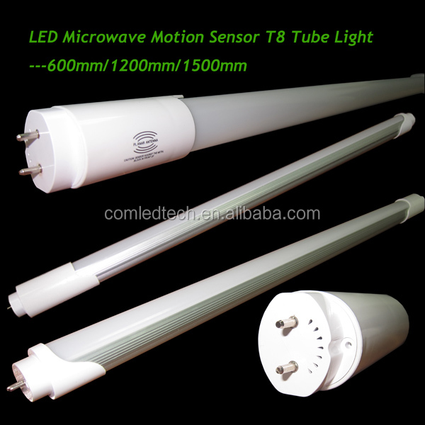 18W High power led tube radar sensor tube t8 led led microwave sensor tube 1200mm 4ft