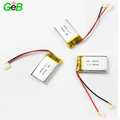 CE/UN38.3 passed rechargeable Lithium Polymer Battery Lipo 3.7v 400mAh 582035