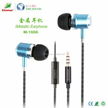 Latest Metal Wired Communication and 3.5mm Connectors Earphone