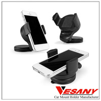 China factory supply durable slicone cell phone car mount one hand funny cell phone holder for car