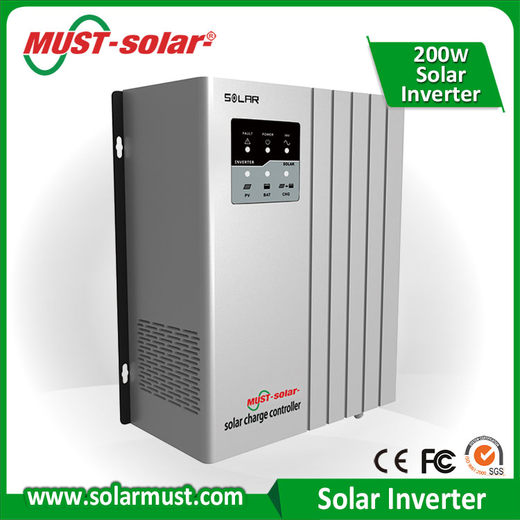 Best Solar Power Solution No Utility Solar Panel Inverter for Home Appliances