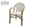 Best Sale Furniture bamboo look frame Used bistro Chair for Restaurant and Cafe