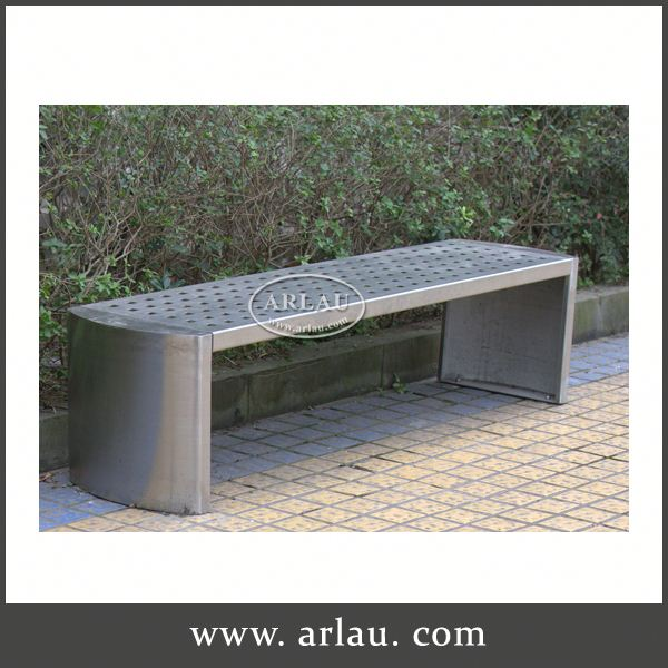 Arlau Colorful Hotel Furniture,Iron Material Bench,Used Cast Iron Patio Furniture / Outdoor Garden Bench