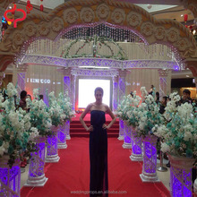 Wedding mandap drapery decoration wedding fiber pillar