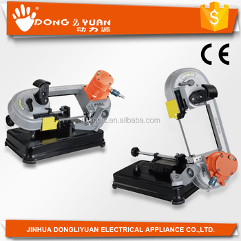 DLY-10QW1 portable vetical/horizontal mini circular saw metal cutting machine