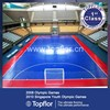 Interlock Indoor multi sports Futsal Court Flooring