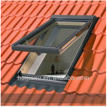 Huijiaxu factory strong glass top hinged roof window, skylight window
