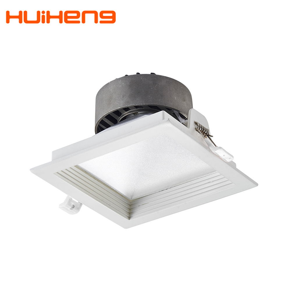 New Arrived Dimmable 12w 15w Cob Trim Recessed <strong>Led</strong> <strong>Downlight</strong>,Square <strong>LED</strong> Down Light in China