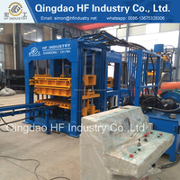 The best price of QT10-15 Hot selling automatic cement hollow block making machine