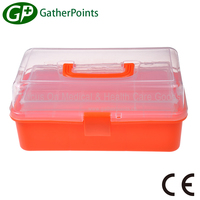 Empty Waterproof First Aid Kit Box With Lock