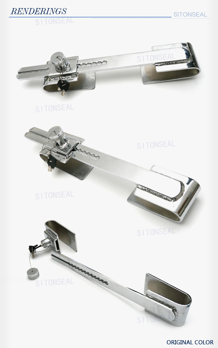 ST-7002 Locking keys provided re-usable heavy duty barrier seal for container