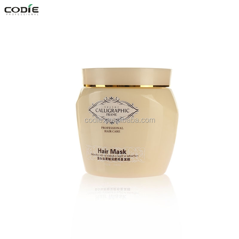 Anti-dandruff protein gold hair mask keratin hair treatment