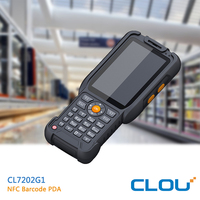 IP66 rugged android phone with nfc, barcode scanner for 1D, QR Code