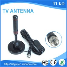 Promotion hd world tv receiver dvb-t atsc isdb-t digital car tv antenna