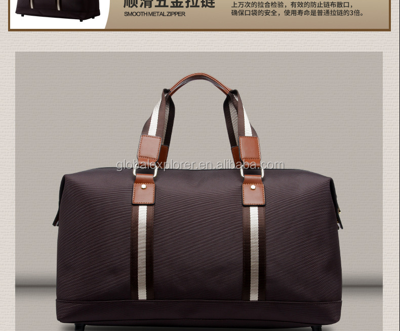 2017 Top Design American Fancy Travel Trolley Luggage Laundry Bag