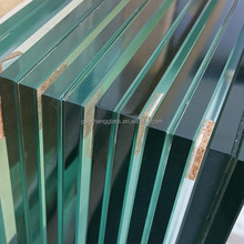 roof panel CE approved tempered 10 +1.52+10mm laminated glass