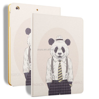 animal shape solar cover case for ipad mini,hard folio case for ipad case
