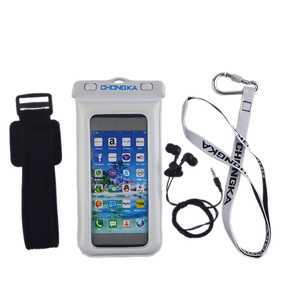Clear cell phone case PVC waterproof bag