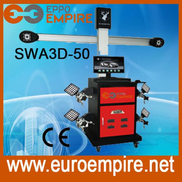 High accuracy car repair equipment -- SWA3D-50 wheel alignment machine price,wheel alignment and balancing machine