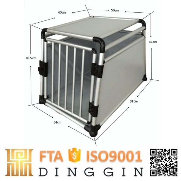 xxl double aluminum dog cage