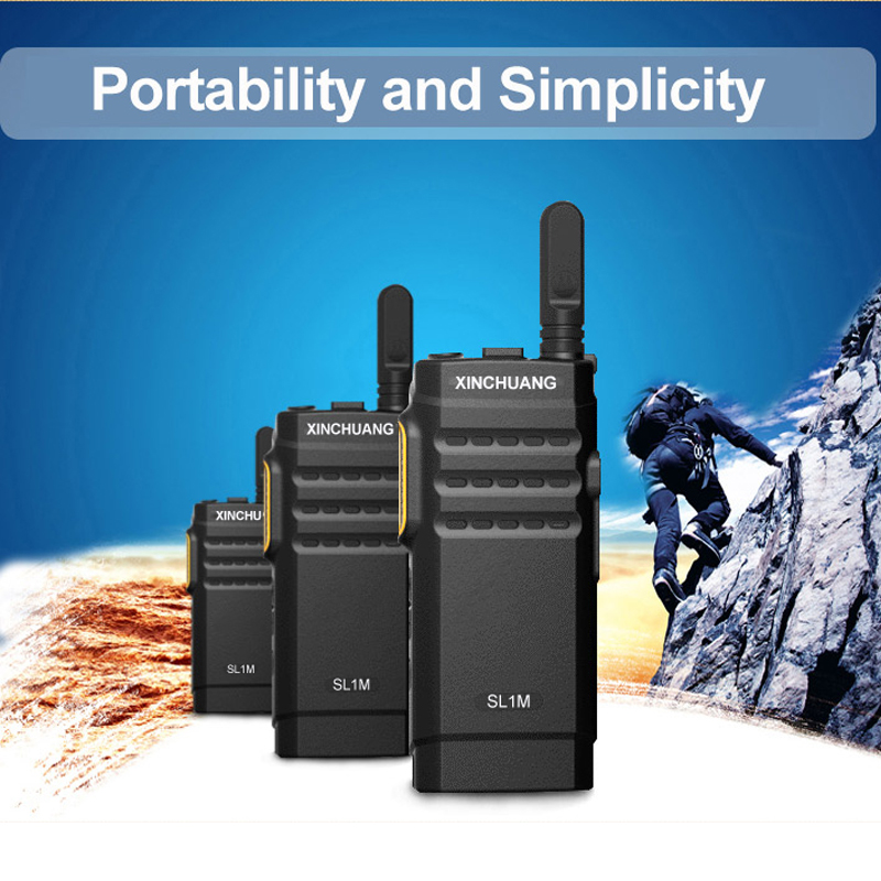 Xinchuang Commercial 5W long range walkie talkies 100 miles for hotel