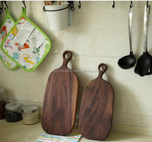 Wholesale Black Walnut Wood Cutting Board with Drip Groove